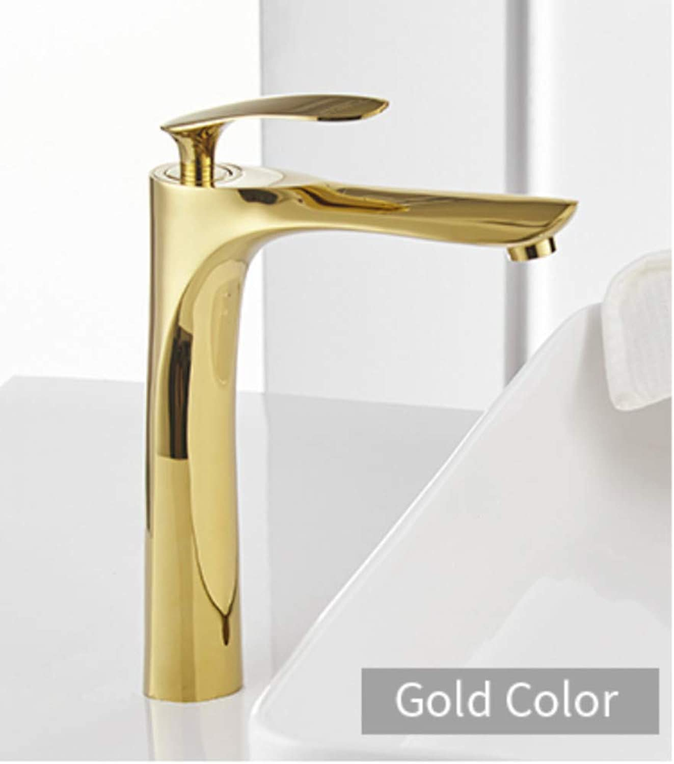 Makeyong Basin Faucets White color Basin Mixer Tap Bathroom Faucet Hot and Cold Chrome Finish Brass Toilet Sink Water Crane gold