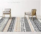 Ommda Alfombras Marroquies Salon Grandes Lavables Antideslizantes Rectangular Pelo Corto Alfombras de Habitacion Comedor 160x230cm