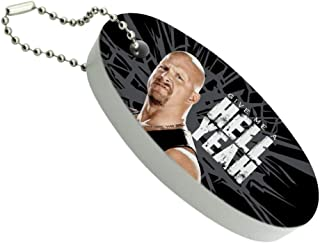 Graphics and More WWE Stone Cold Steve Austin Hell Yeah Floating Foam Keychain Fishing Boat Buoy Key Float