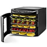 Magic Mill Food Dehydrator Machine - Easy Setup, Digital Adjustable Timer and Temperature Control |...