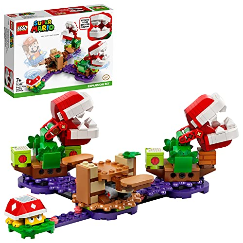 LEGO 71382 Super Mario Set de Expansión: Desafío Desconcertante de Las Plantas...