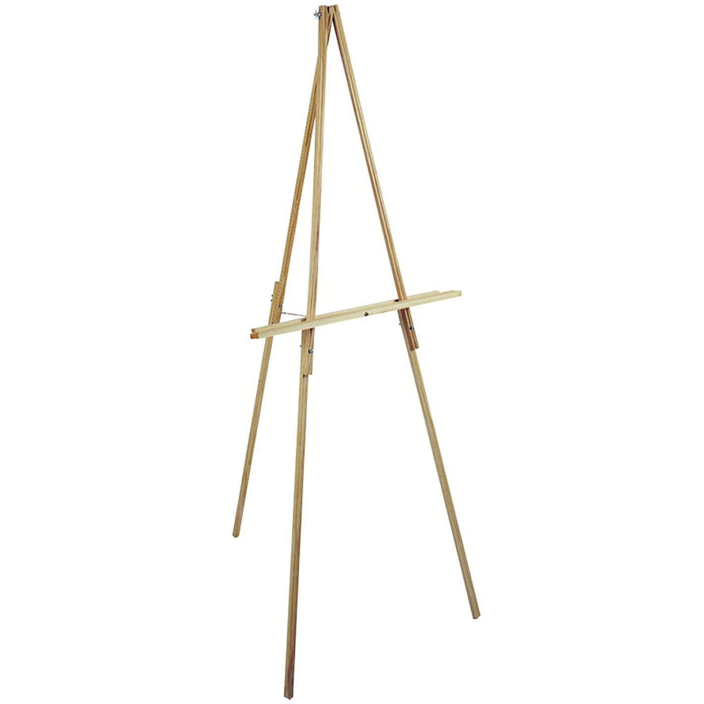 Loew-Cornell 65-Inch Natural Wood Floor Easel