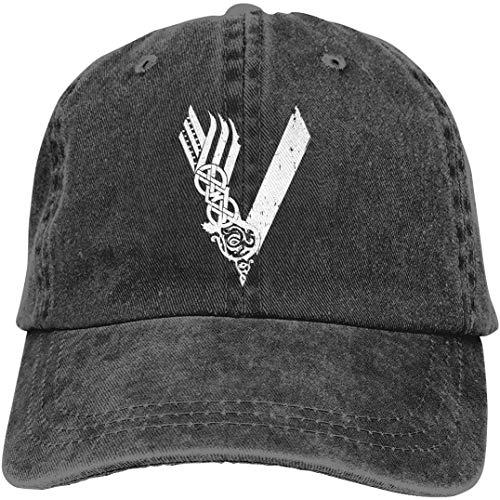 Unisex Vikings TV Series Logo Middle Ages Viking Series Popular Adult Adjustable Denim Cowboy Hat Casquette