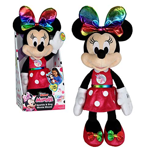Disney Junior Minnie Mouse Sparkle & Sing 13'' Plush