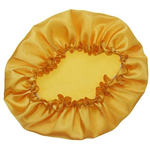 Xuniu Frauen Schlaf Mütze, Satin Night Bonnet Kopfbedeckung Beanie Hat Hair Beauty Elastic