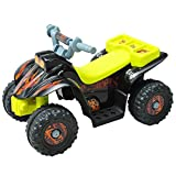 HOMCOM Quad ATV Kinderauto Kinderwagen Elektroauto Kinderfahrzeug Kindermotorrad Elektroquad...