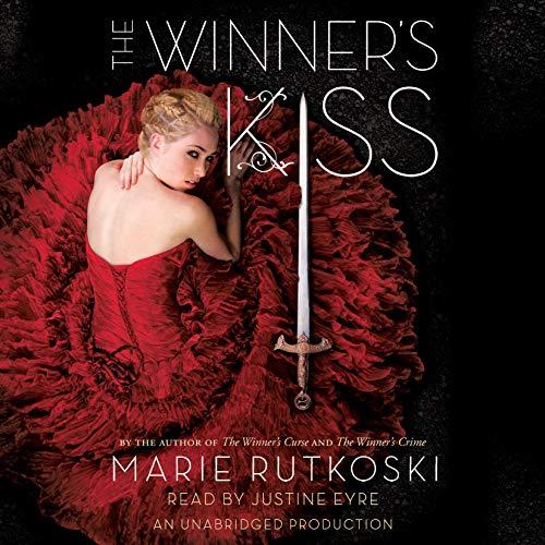 The Winner's Kiss audiobook cover art