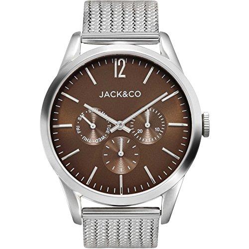 orologio multifunzione uomo Jack&co Stefano casual cod. JW0161M4