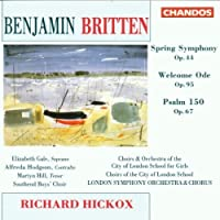 Spring Symphony / Welcome Ode by RICHARD HICKOX (1992-10-28)