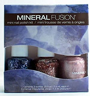 Mineral Fusion Mini Nail Polish Kit, Shimmering Bling