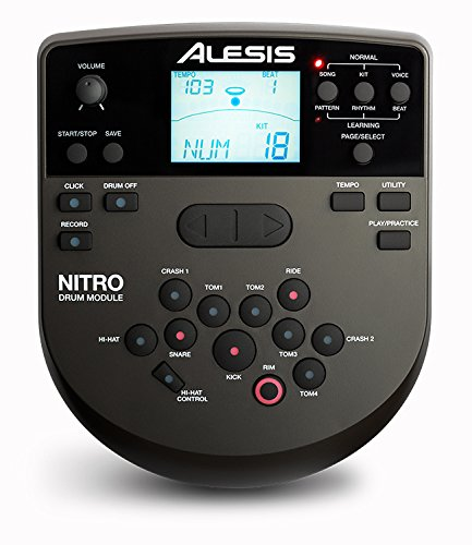 Alesis Nitro Drum Module - with Cable Snake Harness and Power Adapter