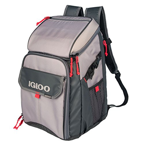 Igloo Outdoorsman Gizmo Backpack-Sandstone/Blaze Red