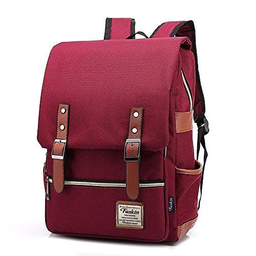 Slim Laptop Backpack for Women, Fashion Travel Rucksack College School Bookbag