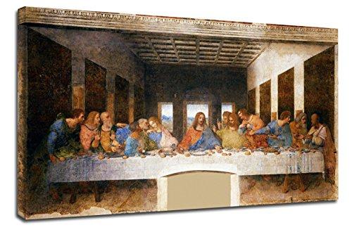 Cuadro La última cena Leonardo da Vinci - The last, usado segunda mano  Se entrega en toda España