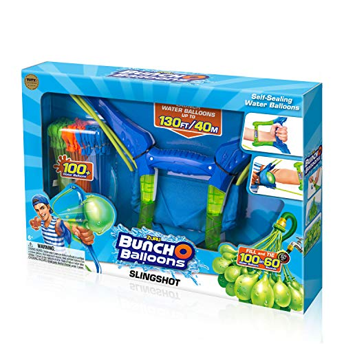 Bunch O Balloons Water Balloons - ZURU Slingshot Multicolor, 100 Balloons