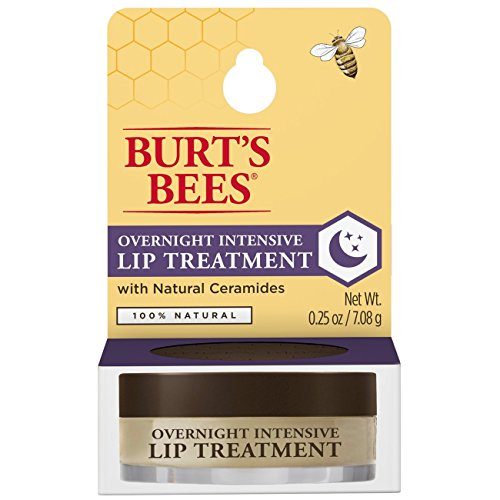 Burt's Bees 100% Natural Overnight Intensive Lip Treatment, Ultra-Conditioning Lip Care -...