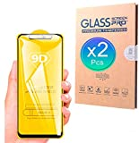R-Beauty Protector de Pantalla Completo de Cristal Templado 9D para Huawei P30, P40, Lite, Pro, Y5, Y6, Y7, P Smart, 2019, 2020, Z, Y6s, Y5p (Y6 2019)