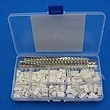 Raogoodcx, set di 600 prese adattatori connettori con alloggiamento, spinotti maschio/femmina da 2,54 mm, JST-XHP 2/3/4/5
