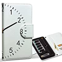 スマコレ ploom TECH プルームテック 専用 レザーケース 手帳型 タバコ ケース カバー 合皮 ケース カバー 収納 プルームケース デザイン 革 ユニーク 時計 シンプル 000271