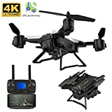 vogueyouth Drone KY601G con videocamera Live Video, 2.4GHz 6 Assi 4k HD 5G WiFi FPV Flight...
