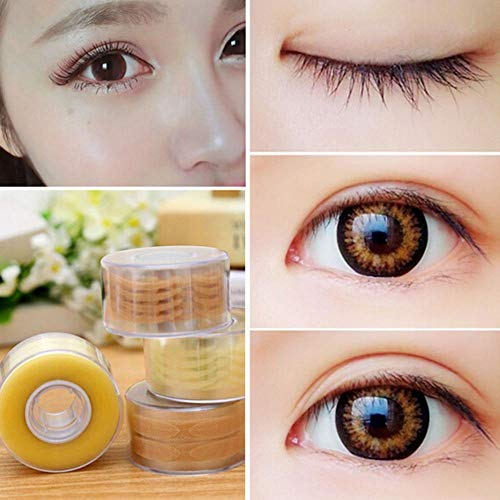 SELLM 300 Pair Thick and Thin Stripe Makeup Eyeliner Double Eyelid Tape Stickers for Making The Eyes Bigger with Eye