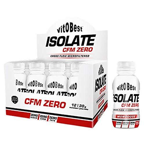 VIT.O.BEST Isolate CFM Zero 12 MONODOSIS 30 gr Galleta, Estándar, Único