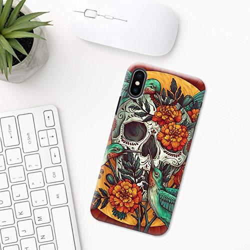 Mexiko (Tag der Toten) iPhone Hülle XR 11 X XS MAX Pro 8 7 Plus 6 6s 5 5s SE 2020 10 Plastik Silikon Apple iPhone phone case festival halloween Schädel Maske Azteken Mexikanische