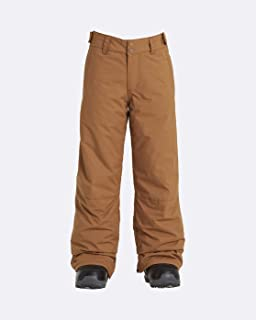 BILLABONG Grom-Pantaloni da Snowboard/Ski da Ragazzo, Bambino