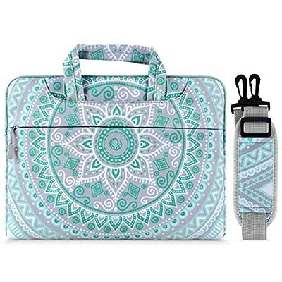 MOSISO Laptop Shoulder Bag Carrying Briefcase Handbag Sleeve Case Mandala MO-MDL001