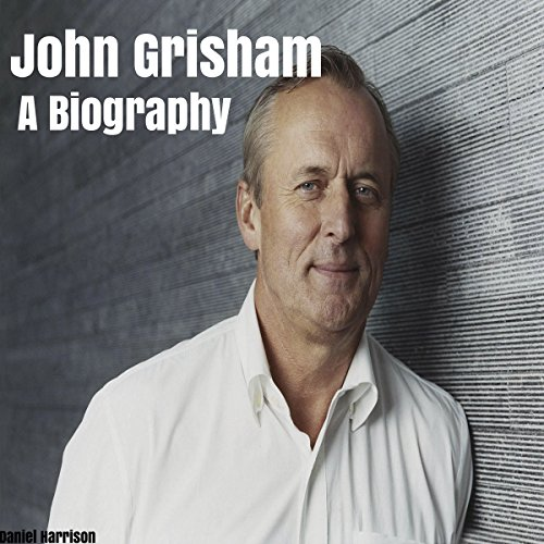 John Grisham audiobook cover art