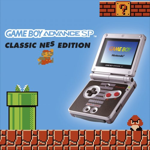 Game Boy Advance SP Konsole Classic NES Edition