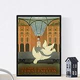 Nacnic Vintage Poster Weinleseplakat von Frankreich und