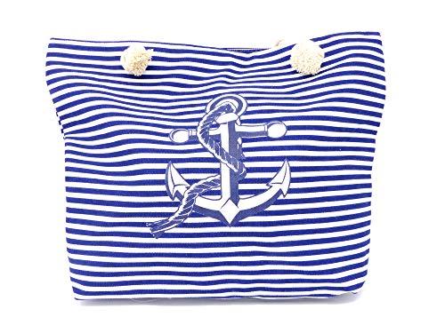 Style Damen-Tasche Schulter Strand-Taschen Anker-Motiv