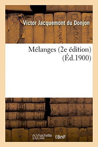 Mélanges 2e édition