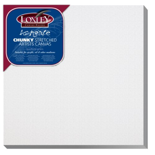 Loxley Ashgate schildersdoek, 30,5 x 30,5 x 3,6 cm, wit
