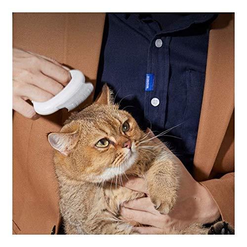 Honden kam, Kat Massage Borstel Met handvat Siliconen Materiaal Huisdier Shampoo Borstel voor Hond en Kat, Huisdier Massage, Haarverwijdering Gemakkelijk te wassen en schoon