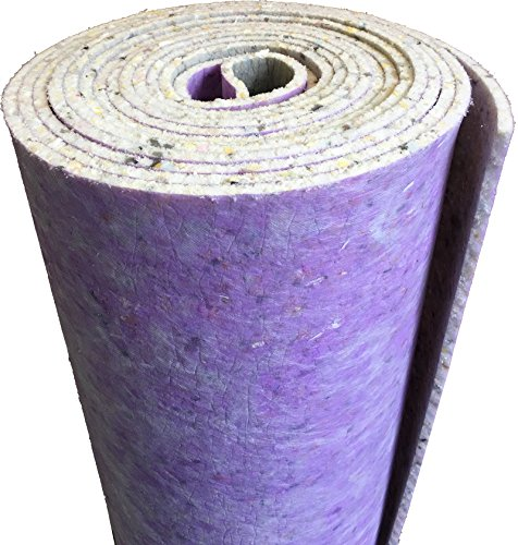 12mm Thick PU Carpet Underlay - 15 Square Meter Rolls - UK Manufactured Quality Feel - Hard Wearing
