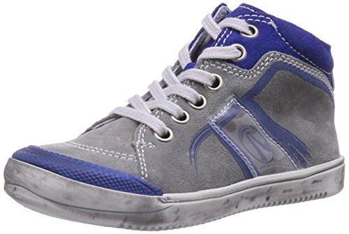 Richter Kinderschuhe Baby Jungen Mirko 0521-522 Sneaker, Grau (Rock/electr/tra/offw 6101), 23 EU