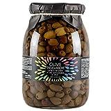 Olive taggiasche denocciolate della Liguria in olio extravergine di oliva 900 g Cuvea- Produzione azienda agricola Cuvea - Senza conservanti né coloranti né correttori di acidità