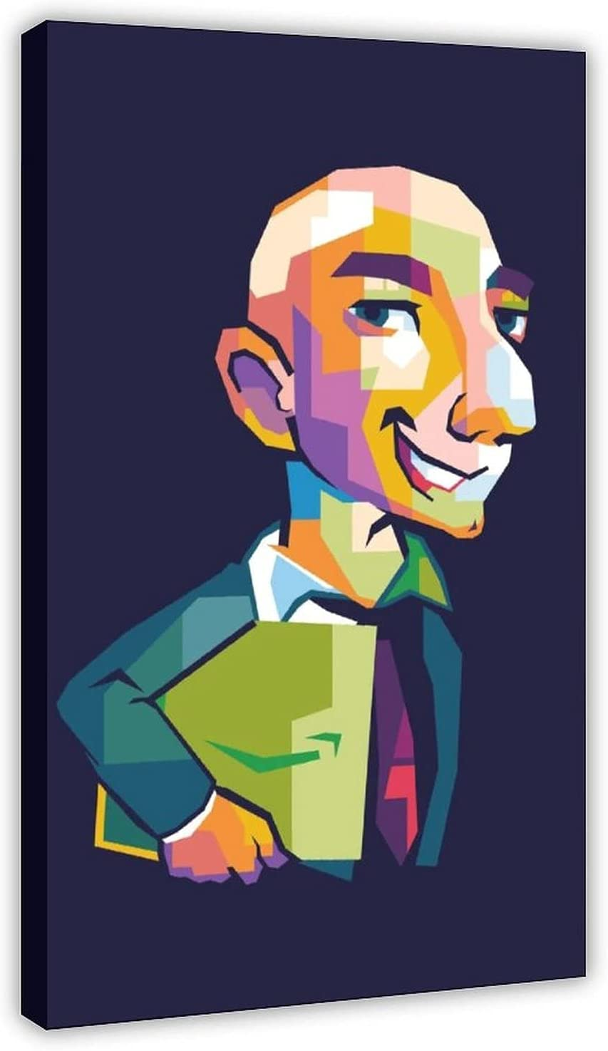 Brand new Richest Jeff Bezos Vertical Poster Room Wall Poste Aesthetic For Houston Mall