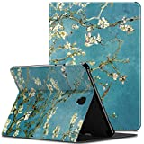 Infiland Samsung Galaxy Tab S4 10.5 Case with S Pen Holder (Auto Wake/Sleep) for Samsung Galaxy Tab S4 10.5 Model SM-T830/ T835 2018 Release, Blossom