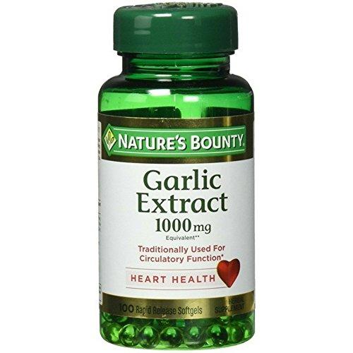 5. Nature's Bounty – Garlic Extract