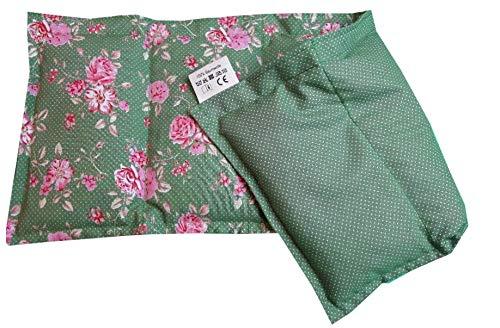 Körnerkissen Natur 20x50 Dinkel Wärmekissen Westfalenstoff Wales grün