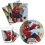 Procos 10108558B – Kinderpartyset Marvel Ultimate Spiderman, Web Warriors, Teller, Becher,...