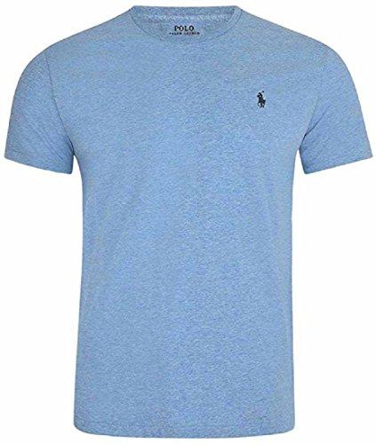 Ralph Lauren Jungen Poloshirt, einfarbig blau Celeste Jamaica Melange X-Large