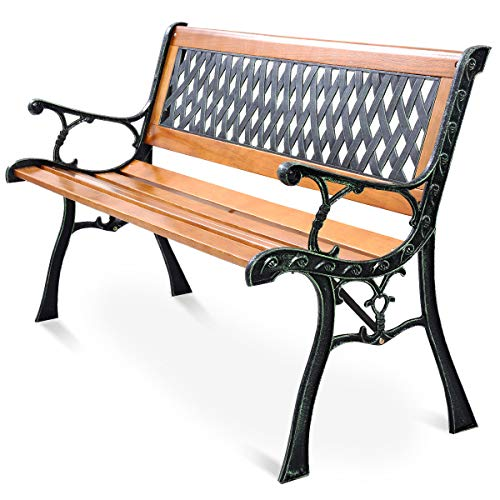 Giantex 50'' Patio Bench, Outdoo...