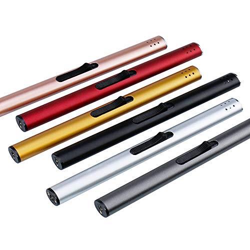 Larruping 6pcs Butane Gas Lighter Flame Lighter Refillable Long...