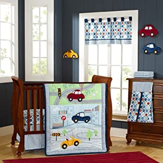 My Little Town 9 Piece Crib Bedding Set