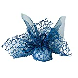 TrAdE shop www.tradeshopitalia.con - 20 Sacchetti Velo VELETTI Organza Rete Tulle per Confetti Matrimonio BOMBONIERE - Blu