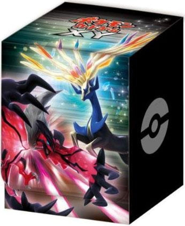 1 1 1 X Japanese Pokemon XY Xerneas Yveltal Deck Box acca1e